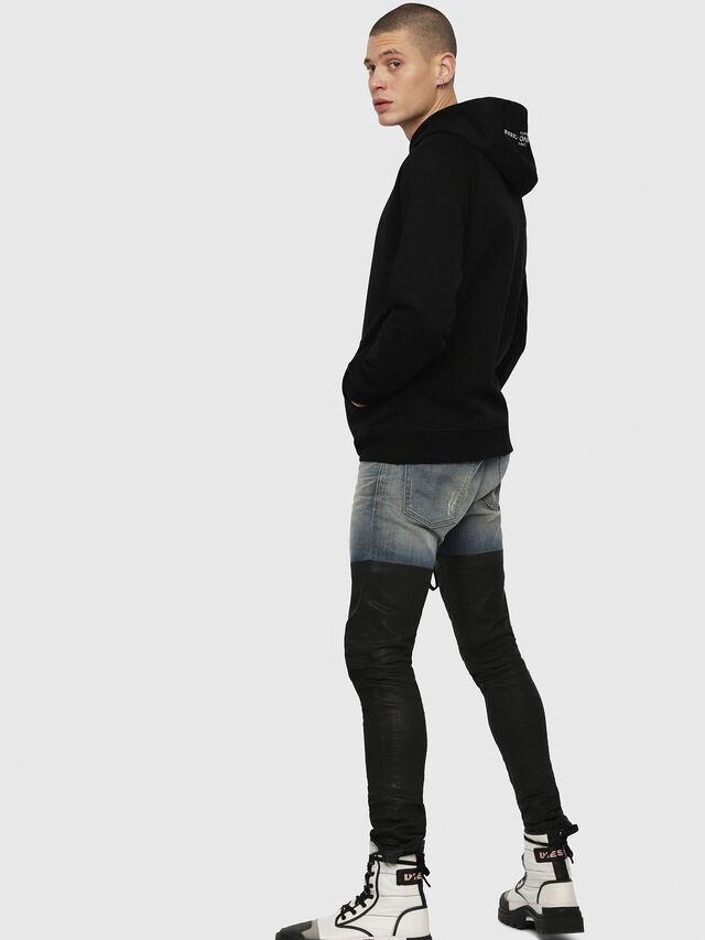Diesel - S-GIM-HOOD-A, Black - Sweaters - Image 3