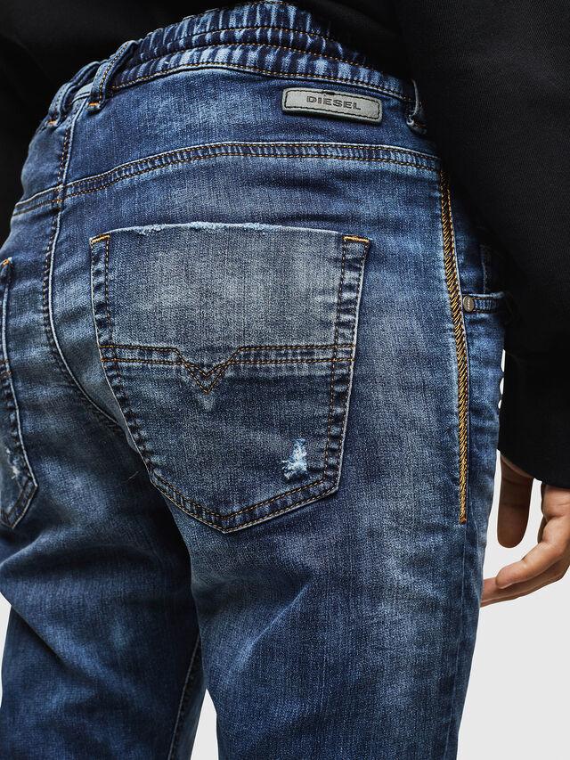 Diesel - Krailey JoggJeans 069AA, Medium blue - Jeans - Image 4