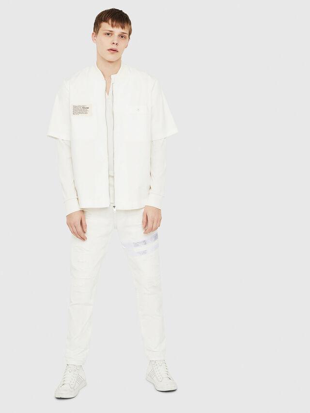 Diesel - T-YOICHIROKI, White - T-Shirts - Image 5
