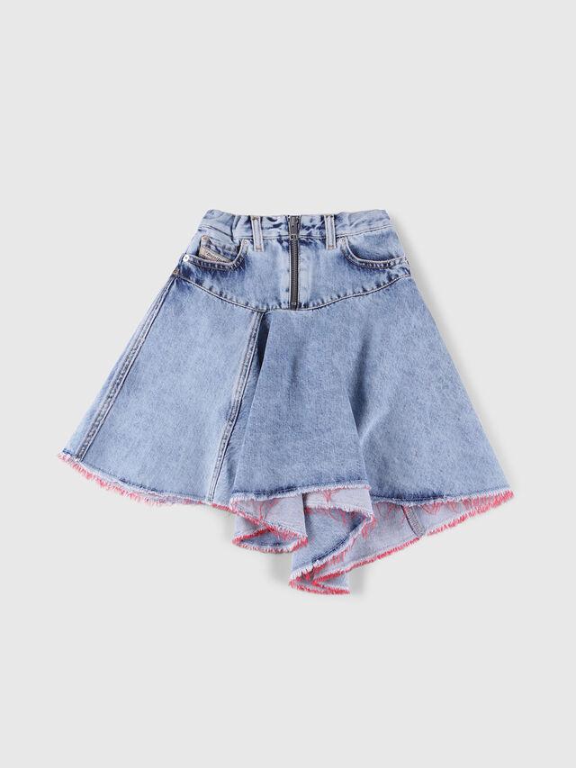 Diesel - GRINSKIRT, Blue Jeans - Skirts - Image 1