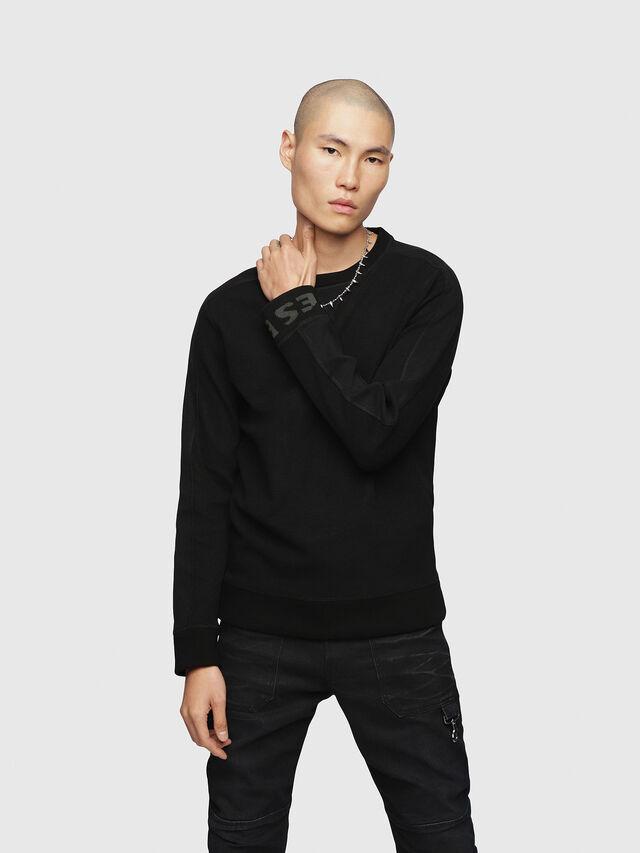 Diesel - S-TINA-J, Black - Sweaters - Image 1