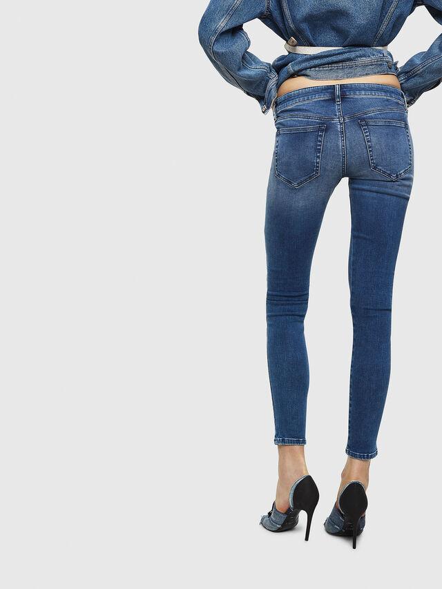Diesel - Slandy Low 084NM, Medium blue - Jeans - Image 2
