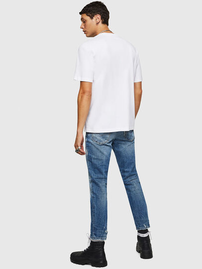 Diesel - T-JUST-B25, White - T-Shirts - Image 2
