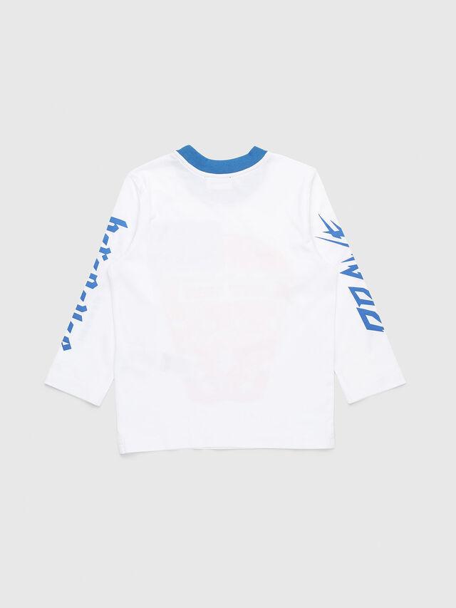 Diesel - TENNUB-R, White/Red/Blu - T-shirts and Tops - Image 2