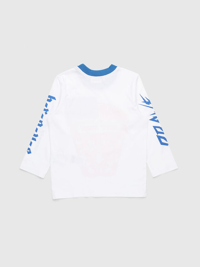 Diesel - TENNUB-R, White/Red/Blu - T-shirts and Tops - Image 2