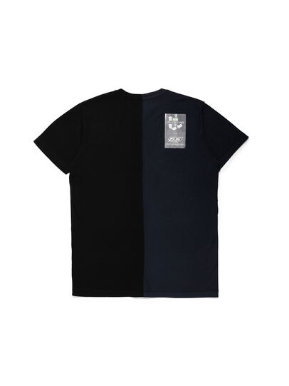 Diesel - D-MESO&MESO, Black - T-Shirts - Image 2