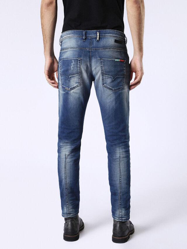 Diesel - Krooley JoggJeans 0680Y, Medium blue - Jeans - Image 3