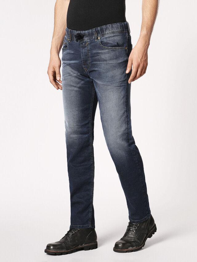 Diesel - Waykee JoggJeans 0683Y, Dark Blue - Jeans - Image 7