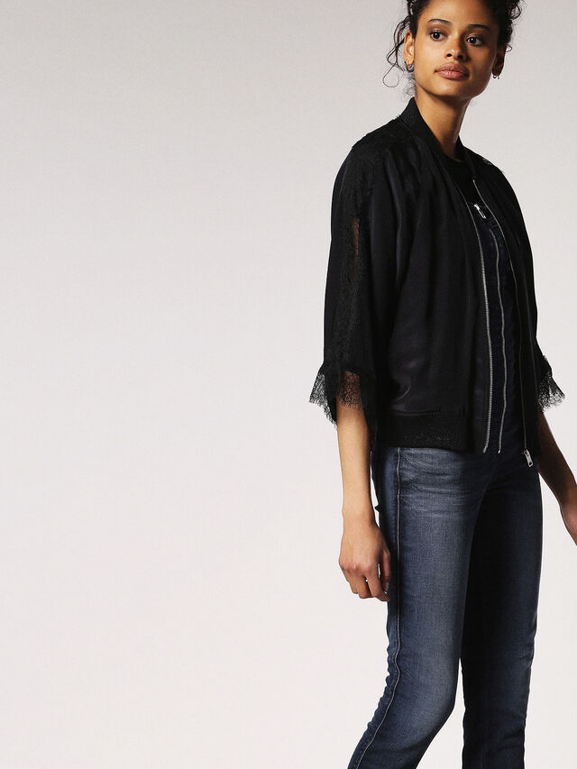 Diesel - ZEPPEL JOGGJEANS, Blue Jeans - Jumpsuits - Image 6