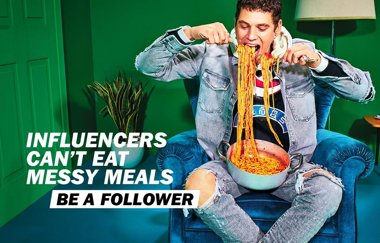Be a follower Man