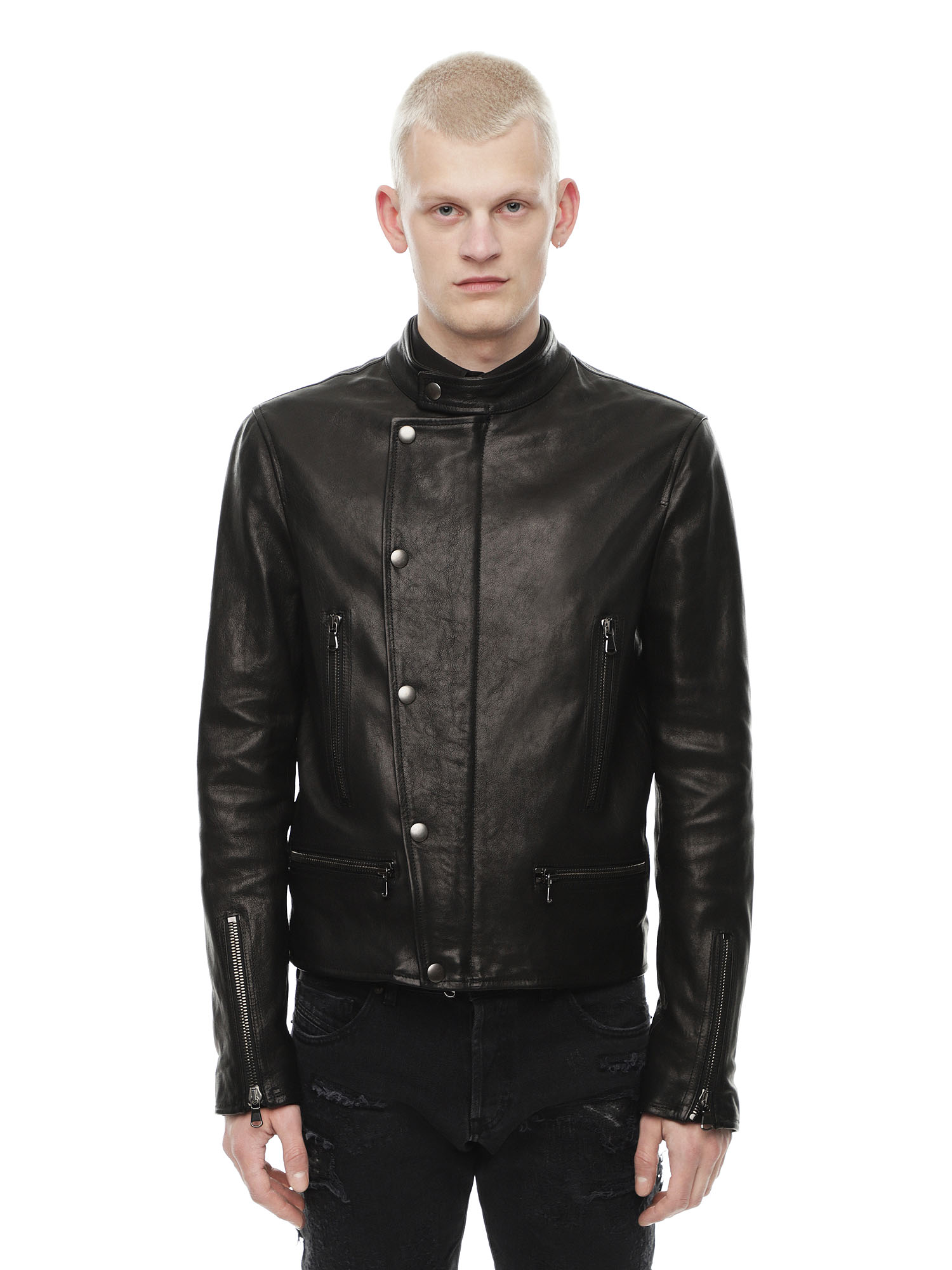 Diesel - LAZING,  - Leather jackets - Image 1