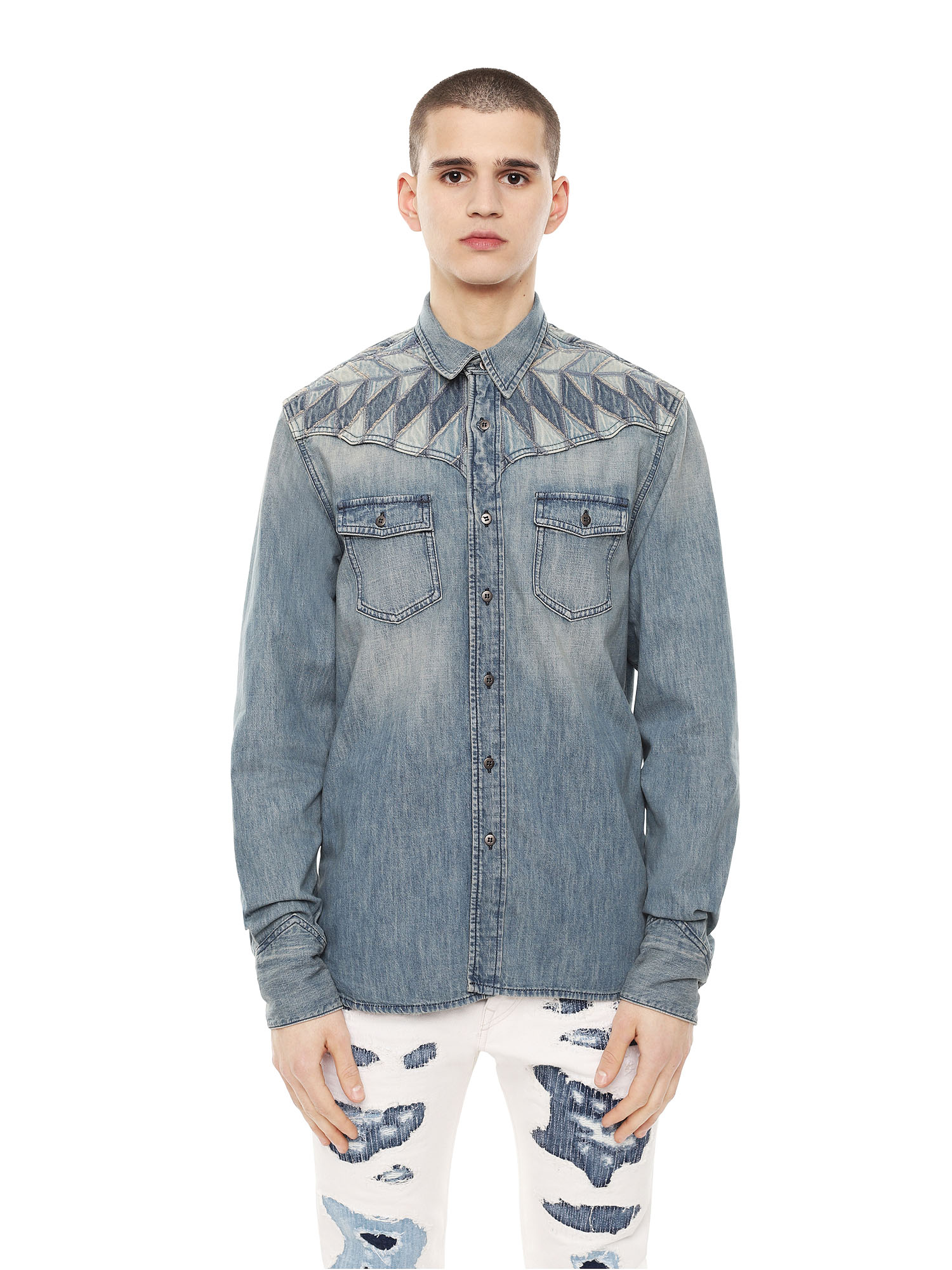 Diesel - SULLYVAN,  - Shirts - Image 1