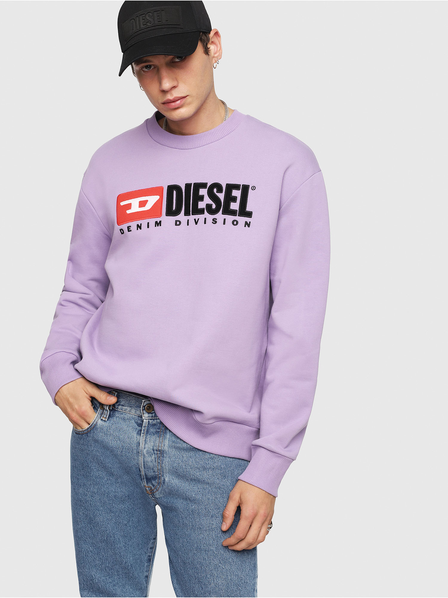Diesel - S-CREW-DIVISION,  - Sweaters - Image 4