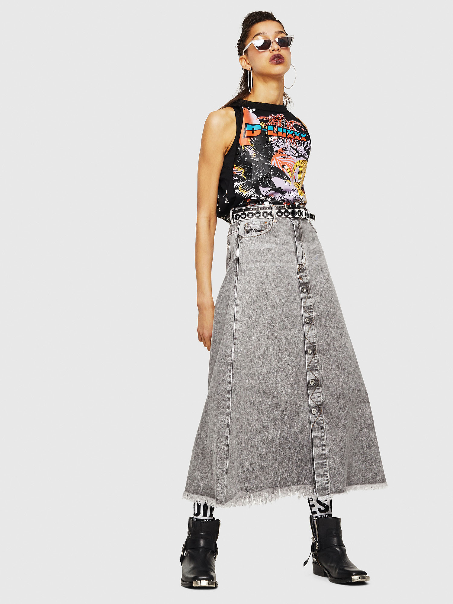 Diesel - DE-MARGY,  - Skirts - Image 5