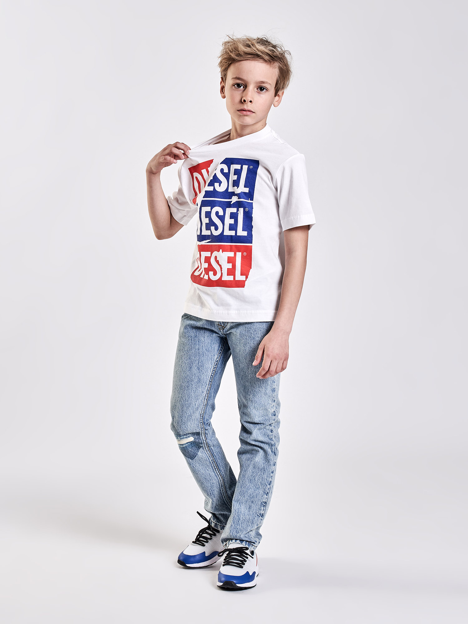 Diesel - TJUSTZC OVER,  - T-shirts and Tops - Image 4