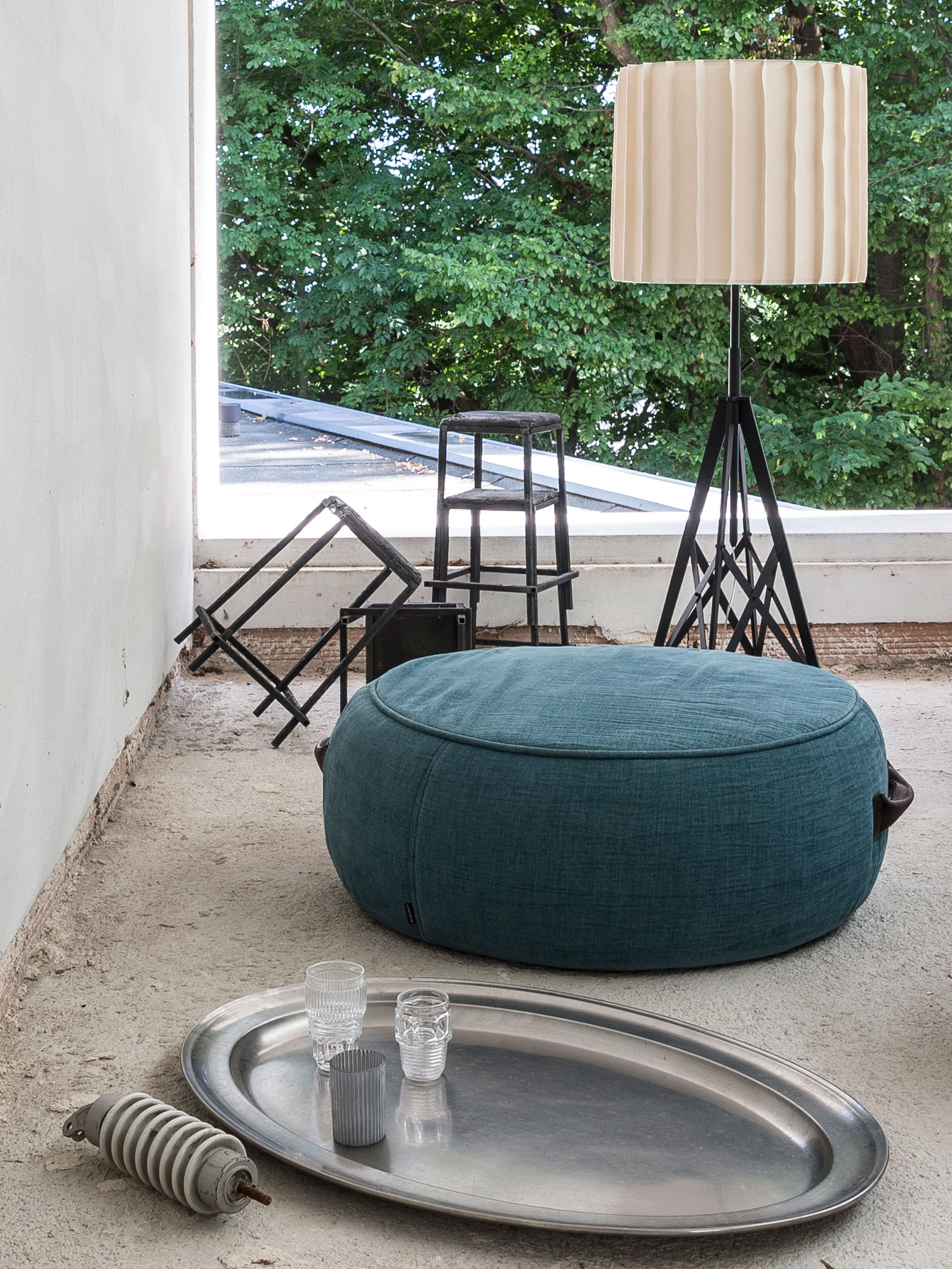 Diesel - CHUBBY POUF 45,  - Furniture - Image 1