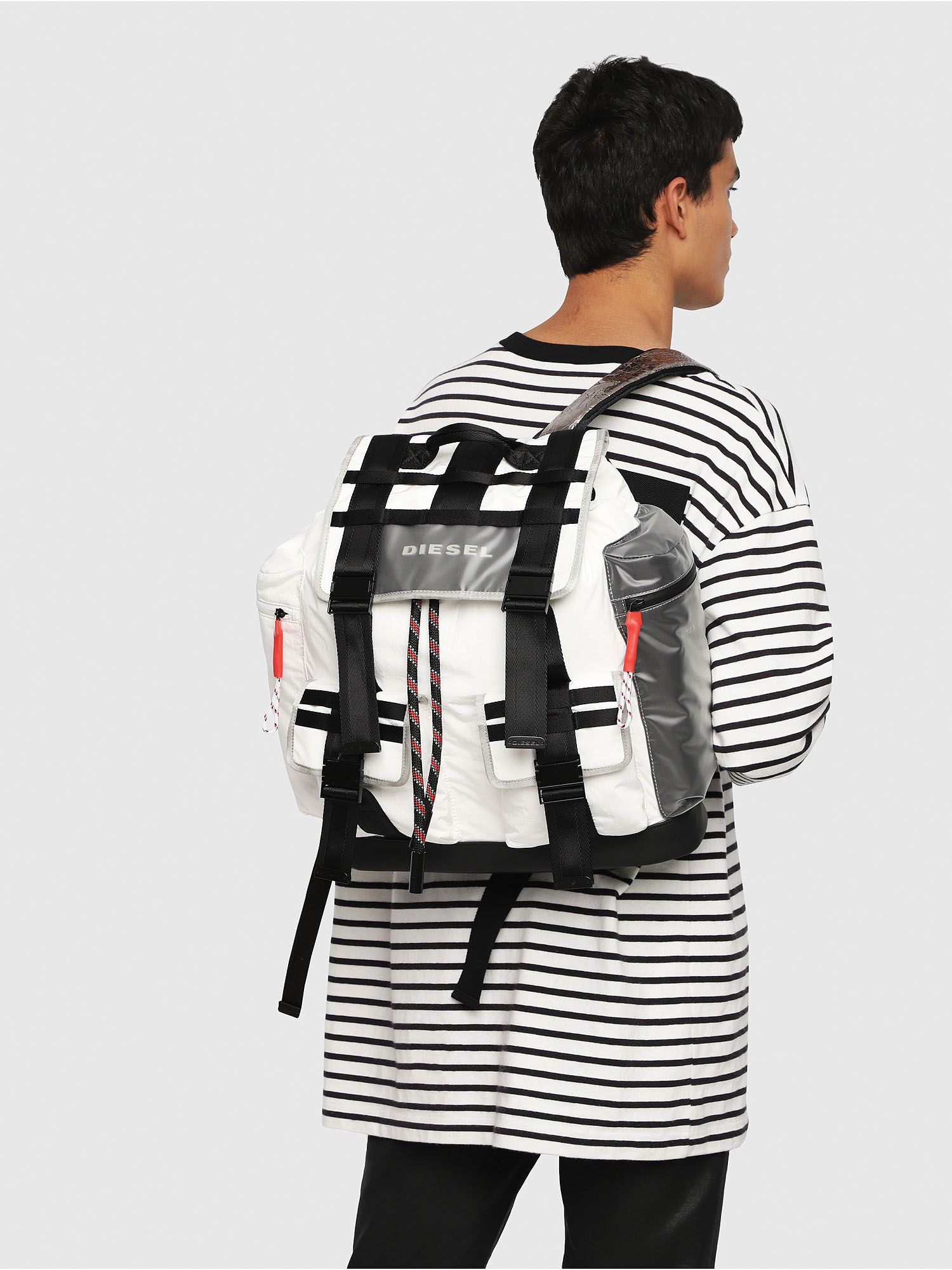 Diesel - M-CAGE BACK,  - Backpacks - Image 5